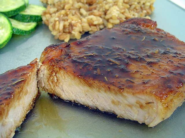 Pork Chops with Balsamic-Maple Glaze | Recipes to Try - Dinner | Pint ...