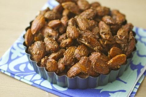 cinnamon roasted almonds | Yummy! | Pinterest