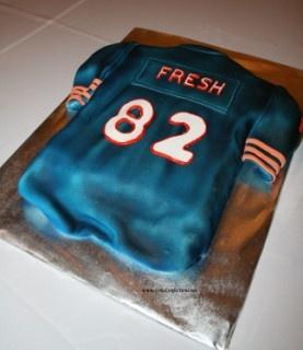 Football Jersey Cake Birthday Party Ideas Pinterest