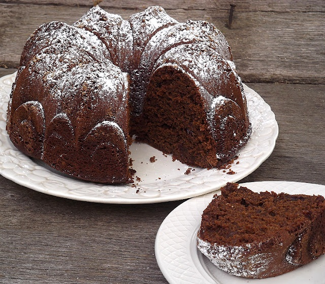 Ginger Spice Cake with Dried Cherries from Bon Appetit Magazine, April ...