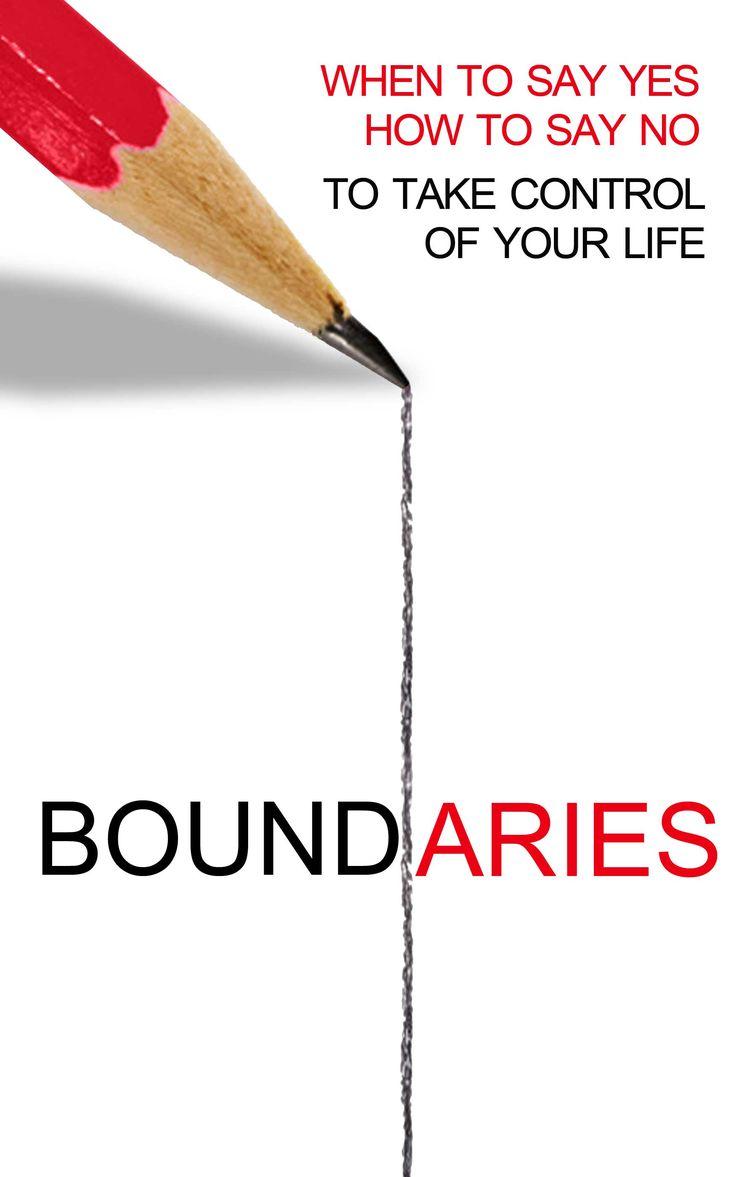 Boundaries....have them!