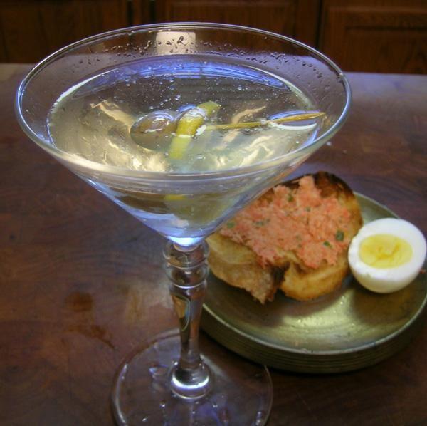 dry martini olive juice
