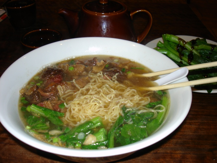 Beef Stew in Noodle Soup | Kitchen Offerings | Pinterest