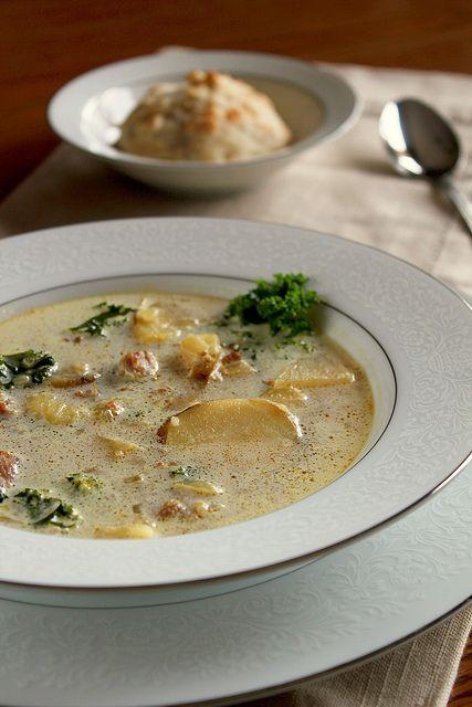 Fancy Napkin: .Zuppa Toscana Soup. | Recipes | Pinterest