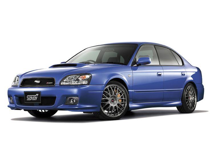 2002 Subaru Legacy STi Vehicle Imagery