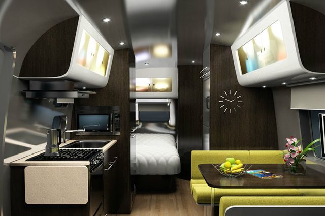 Modern airstream airstream others pinterest for Rv interior designs