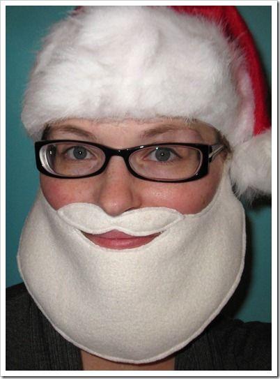 DIY Santa beard