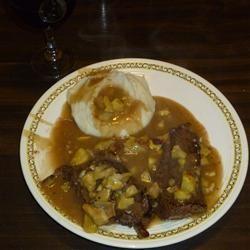 Big Joe's Venison Steak in Chestnut Sauce Allrecipes.com