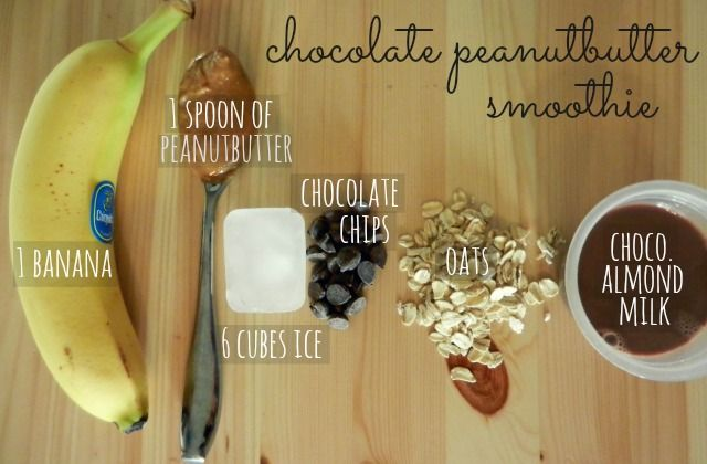 Chocolate Peanutbutter Smoothie | a healthy awakening wow, gotta try this one sometime wink wink @pratherelizabeth....hello where are you!?!