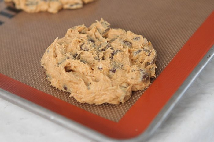 Giant Salted Pumpkin Chocolate Chunk Cookies | Recipe