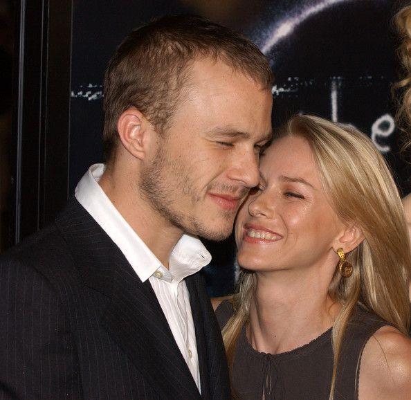 Heath Ledger+Naomi Watts   Hollywood couples   Pinterest