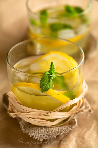 Ideas including Honey Ginger Lemonade, Sparkling Pineapple Mint Juice ...