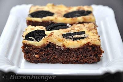Cookies & Cream Cheesecake Brownies | Hurdie | Pinterest