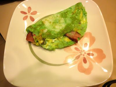 Green Eggs And Ham Omelet Recipes — Dishmaps