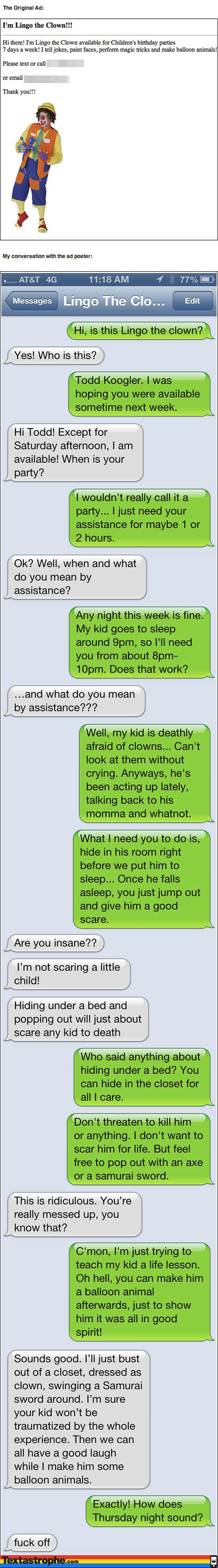 The Clown Prank