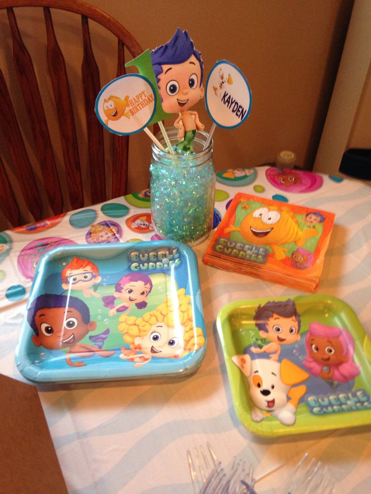 Bubble guppies party ideas bubble guppies pinterest - Bubble guppie birthday ideas ...