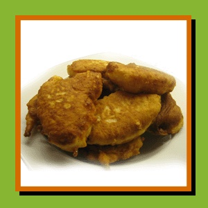 "Bunuelos de Queso ""Cheese Fritters"" 