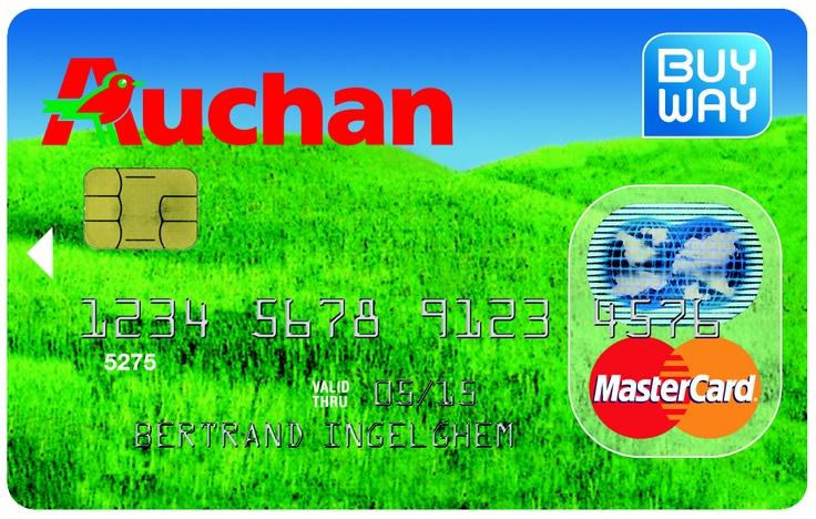 Buy Way & Auchan  Buy Way Credit Cards 2012  Pinterest