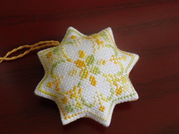 Star Biscornu