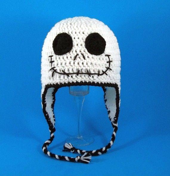 Jack Skellington Crochet Hat Crochet & Knitting Pinterest