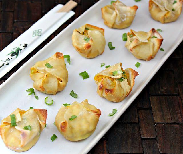 baked crab rangoon | food | Pinterest