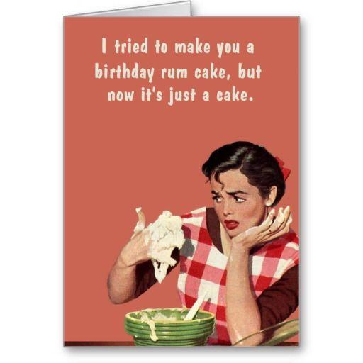 Snarky Birthday Cake