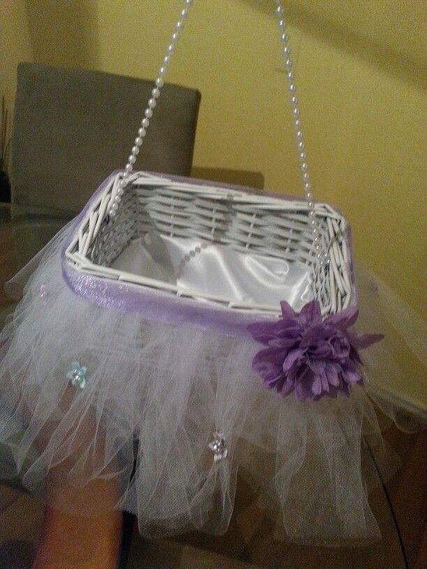 Flower Girl Baskets Diy :