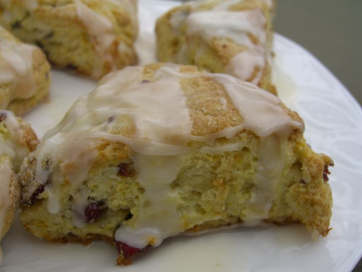 Gluten Free Cranberry Orange Scones!! | Food | Pinterest