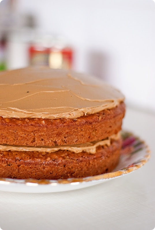 Apple Walnut Cake with Treacle Frosting | Sweetness | Pinterest