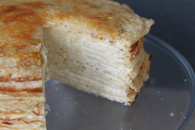 Gâteau de Crêpes (Crepe Cake) | The Little Epicurean