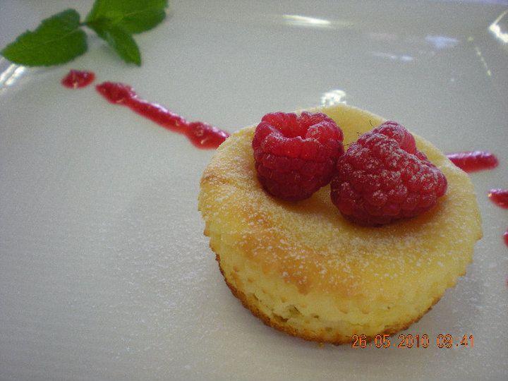 Lemon Zest and Raspberry Cheesecake Cupcakes