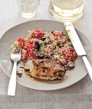 Orange Chicken With Bulgur Pilaf|Bulgur—a nutty, nutritious grain ...