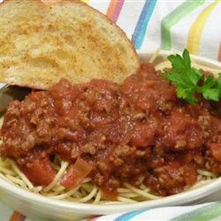 Spaghetti Sauce with Ground Beef Recipe | Key Ingredient