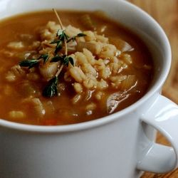 Lean Bison & Barley Soup With Green Peas Recipes — Dishmaps