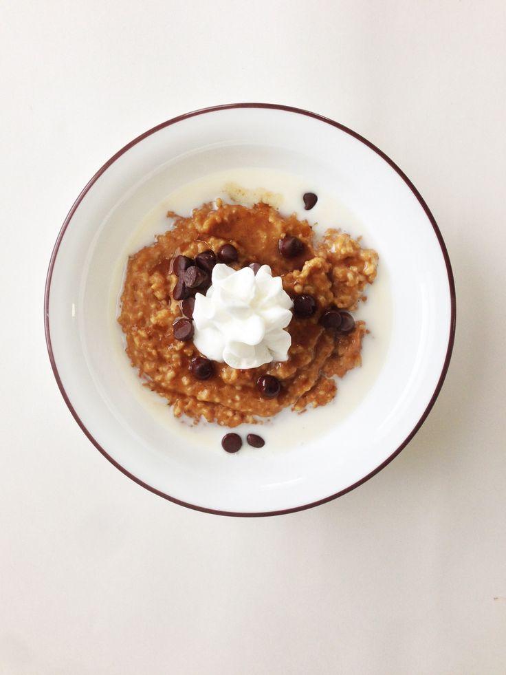 Crock Pot Pumpkin Spice Oatmeal | Recipes | Pinterest