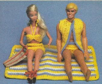 Action Man and Barbie Vintage Knitting Patterns from The