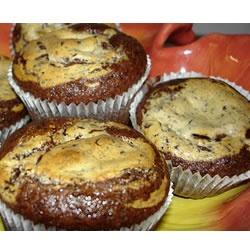 Black Bottom Cupcakes I Allrecipes.com | Food tastes GOOD | Pinterest