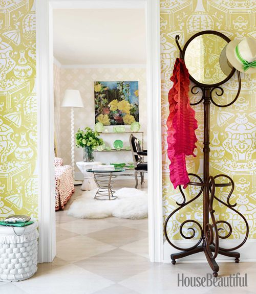 Edison Avenue: Cheerful Decorating With Yellow And Lavender