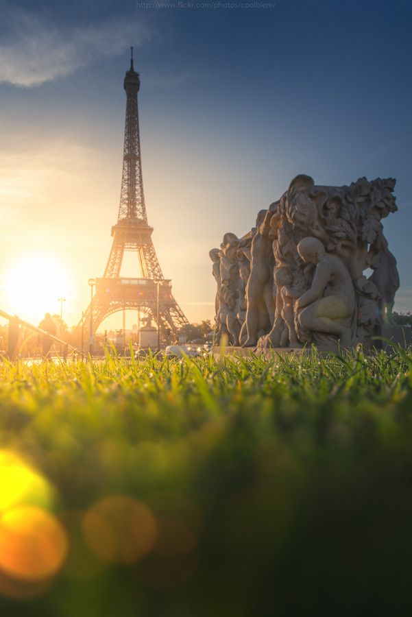 romantic city paris