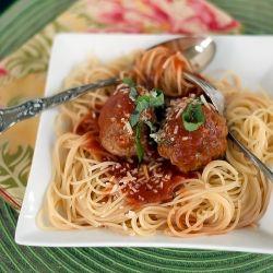 Spaghetti And Meatballs With Mark Recipe — Dishmaps