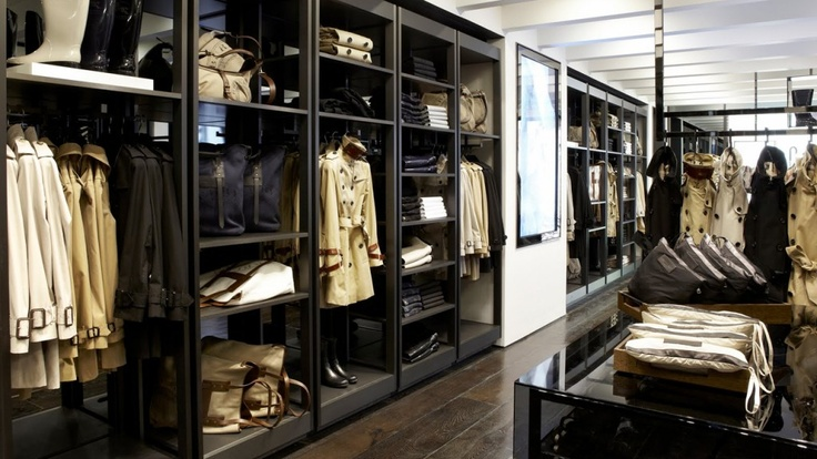 know none of these are walk in closets but luxury clothing