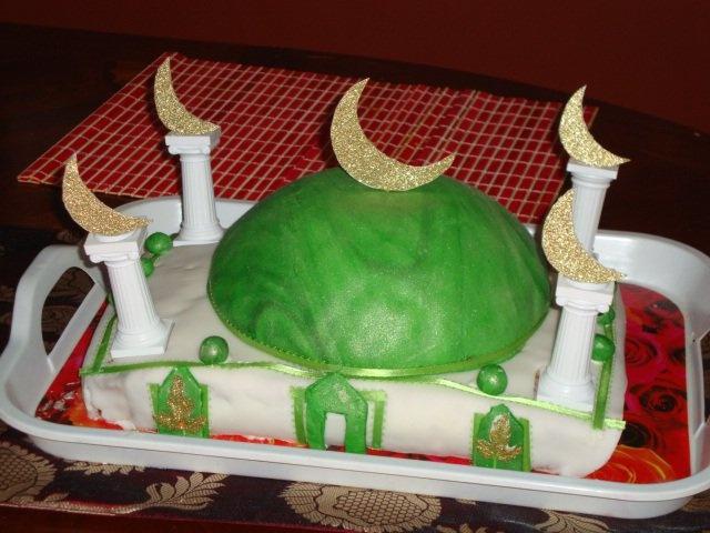 Masjid cake for Ramadan!