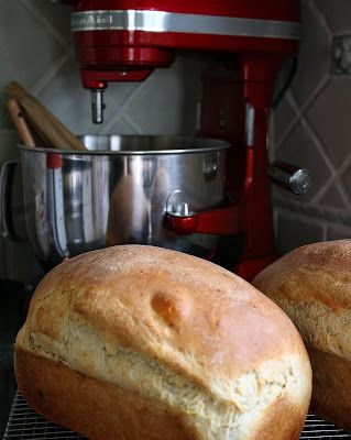... with the Old Mixer and In with the New . . . (Yukon Gold Potato Bread