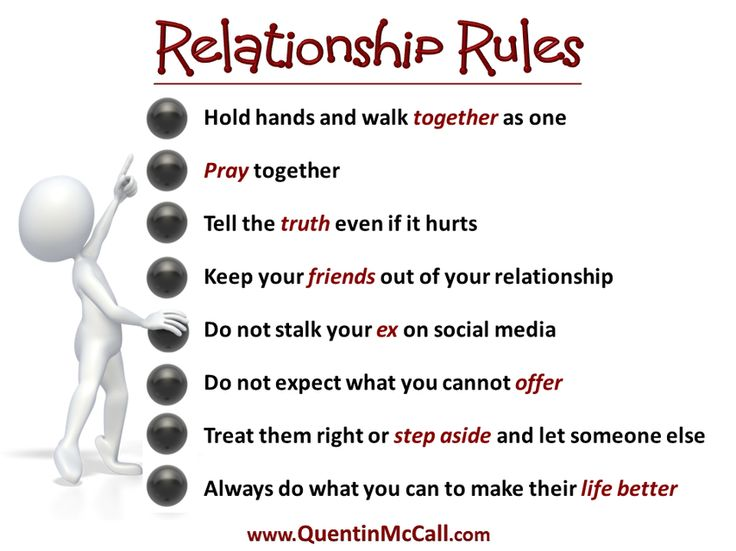 relationship guidelines
