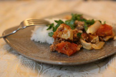 Tofu with Ground Pork and Shrimp | Side Dishes | Pinterest