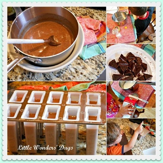 Mexican chocolate popsicles | Sweet Treats! | Pinterest