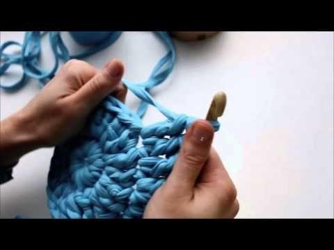 Плетение корзин из трикотажной пряжи