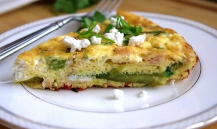 Asparagus And Ham Oven Frittata Recipes — Dishmaps