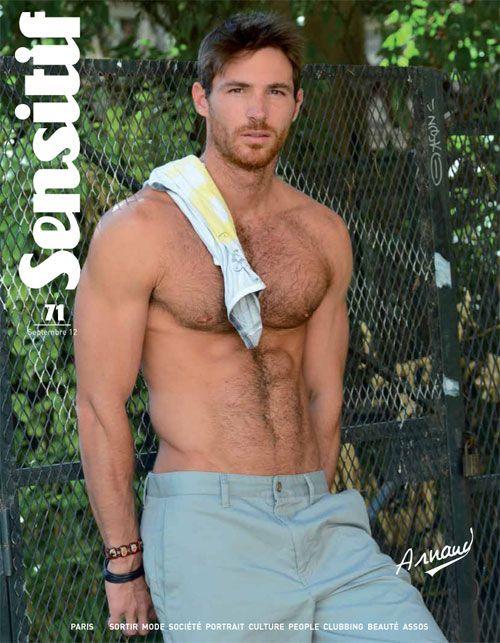 ... guys; romance novel; romantic; eye candy; male model; Arnaud Dehaynin