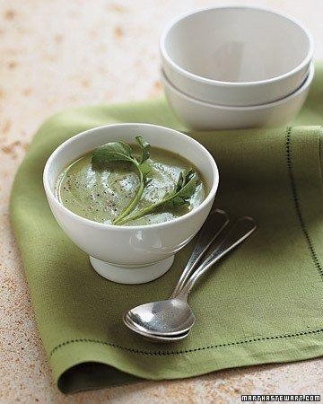 Watercress-Cauliflower Soup Recipe